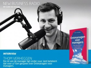 Interview met Thom Verheggen op New Business Radio